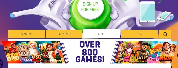 LuckMe Casino free spins bonus