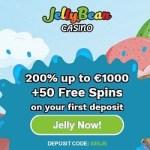 Jelly Bean Casino [register & login] 50 free spins + 200% bonus