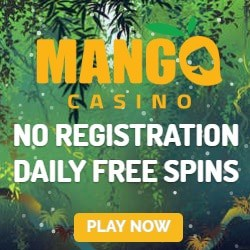 Mango Casino [bankID, no account] - free spins on every deposit!