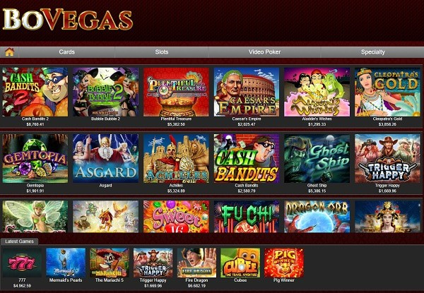 Bo Vegas Casino Review