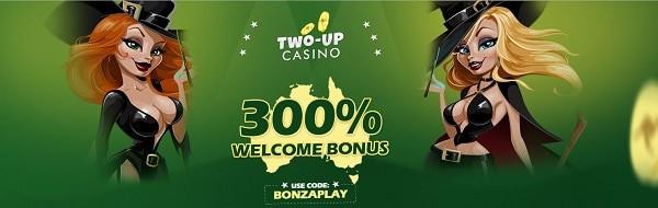 Get 300% bonus on first deposit. Bonus Code applies.