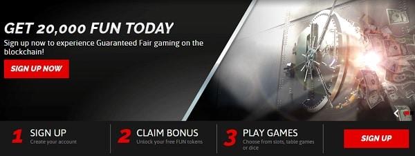CasinoFair welcome bonus