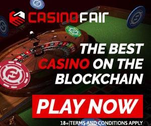 CasinoFair 20,000 FUN no deposit bonus (BlockChain)