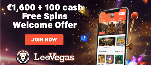 Exclusive Bonus: 1600 EUR and 100 free spins up for grabs