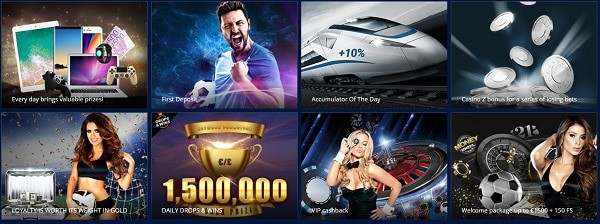 Casino & Sportsbook with cryptocurrency