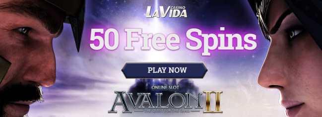 Casino La Vida 50 free spins no deposit bonus