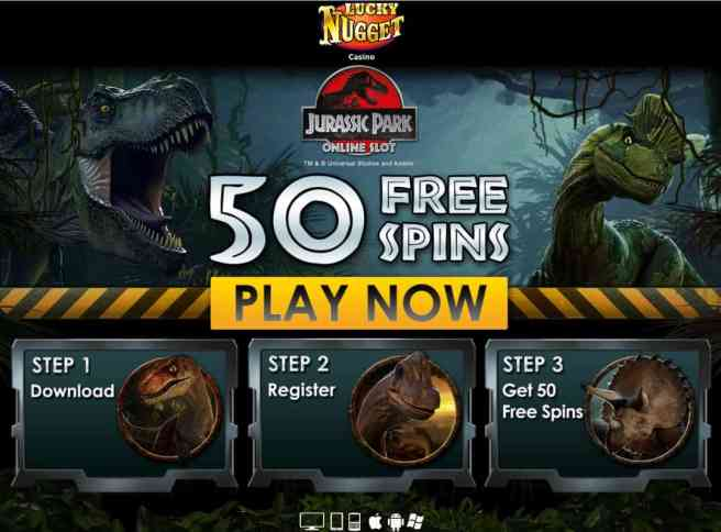 Lucky Nugget Casino review: 50 free spins plus $1000 welcome bonus