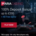 Maria Casino 200 free spins NetEnt games