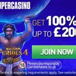 Super Casino – £10 no deposit and 100% free bonus up to £200