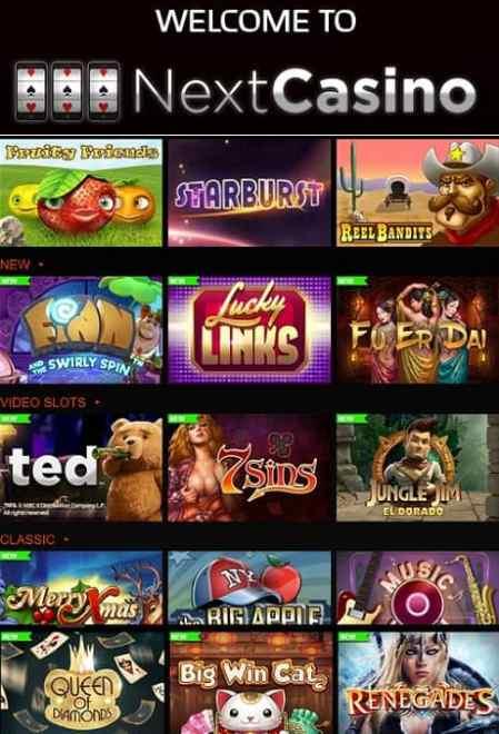 NextCasino.com Casino Review