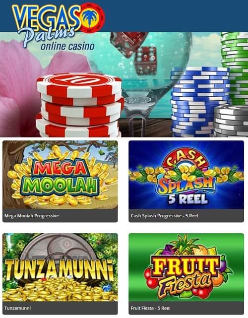 Vegas Palms free spins bonus