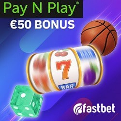 Fastbet Casino [Fastbet.com] 50 EUR or 500 SEK bonus - Pay N Play