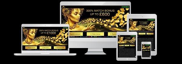 Midaur Casino mobile gaming
