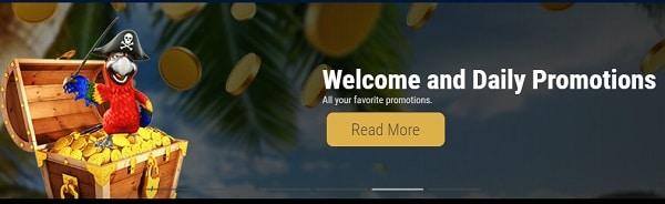 Grandbay Casino Welcome Bonus
