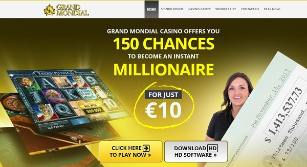 150 free chances on Mega Moolah jackpot
