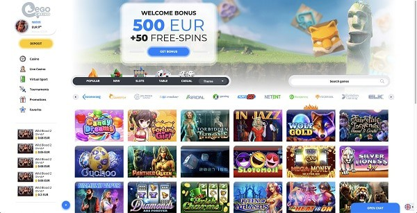 Curacao Casino Online free spins bonuses