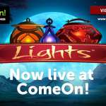 ComeOn free spins on Lights new NetEnt Casino game