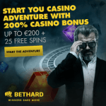 BetHard Casino 200% free bonus & 25 free spins – no deposit required