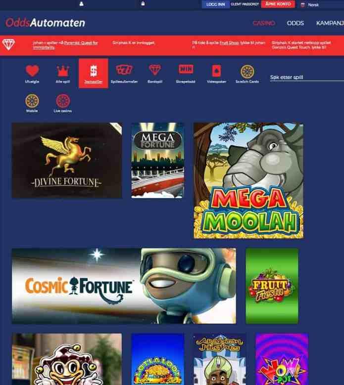 Odds Automaten Casino & Sportsbook