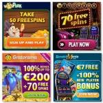 €26 GRATIS free bonus – Gratorama, Winorama, Winspark, Scratch Mania
