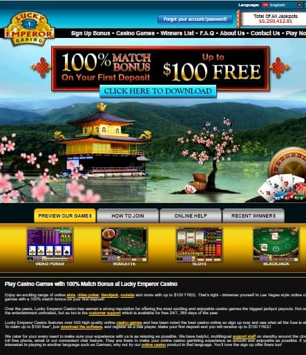 Lucky Emperor Casino Review