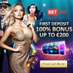 BETJOY Casino 25 free spins bonus – no deposit required!