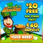 Strike It Lucky Casino – 20 free spins plus 100% free bonus