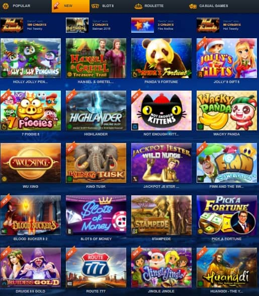 ZigZag777.com Online Casino free spins bonus