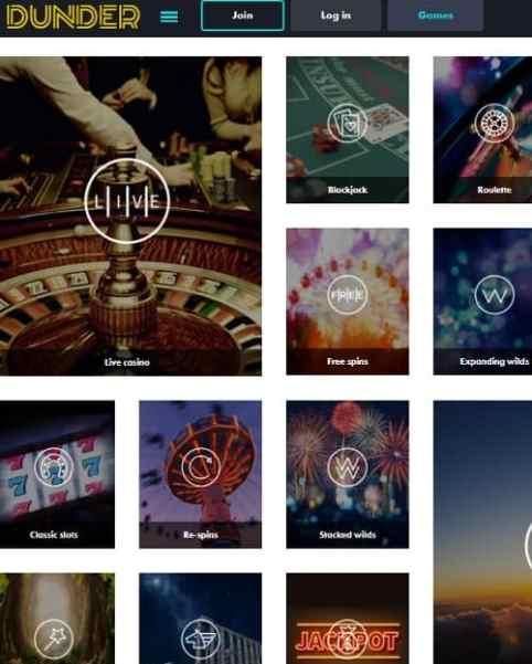 Dunder.com Casino Review