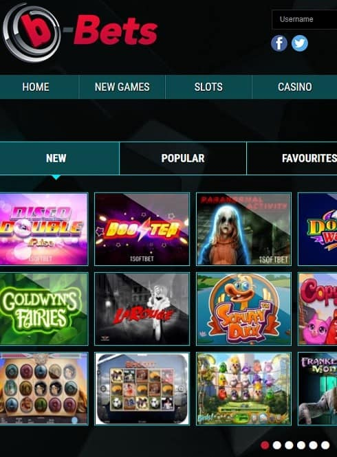 b-Bets Casino free bonus games