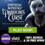 Omni Slots Casino 70 free spins   150% up to €/$500 welcome bonus