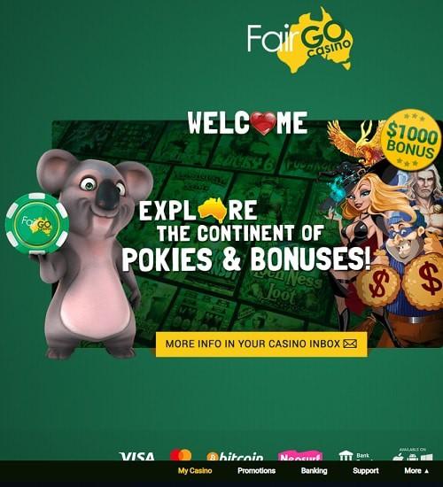 Australian Pokies - Fair Go Casino