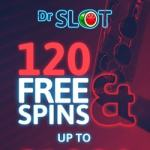 Dr Slot Casino (drslot.co.uk) 120 free spins bonus - no deposit required