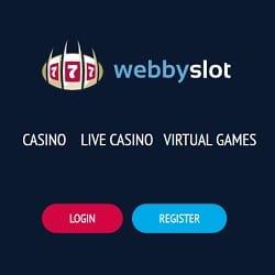 Webby Slot Casino [register & login] 100 free spins welcome bonus