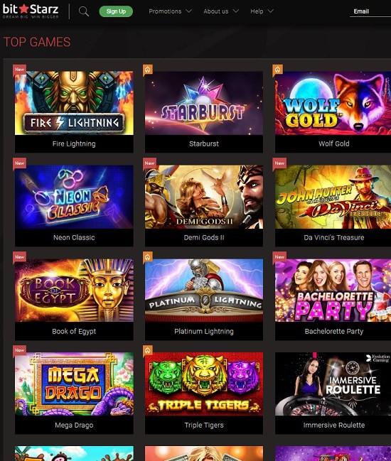 Bitstarz Bitcoin Casino free play games