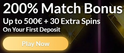 Temple Nile Casino 200% bonus & 30 free spins on sign up