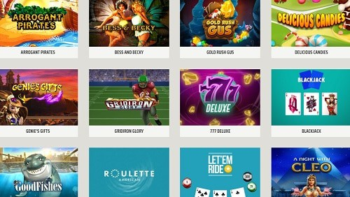 Ignition Casino games and software