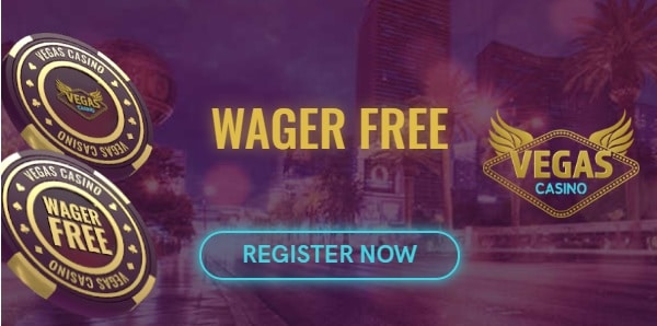 VegasCasino.com wager-free bonus: 20 free spins no deposit required