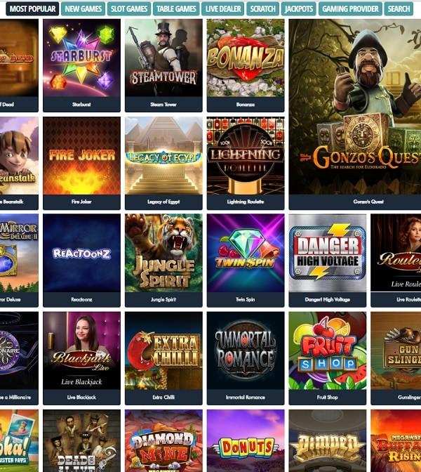 JonnyJackpot Casino free bonus