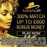 How to get exclusive free spins and 300% bonus to Midaur Casino?