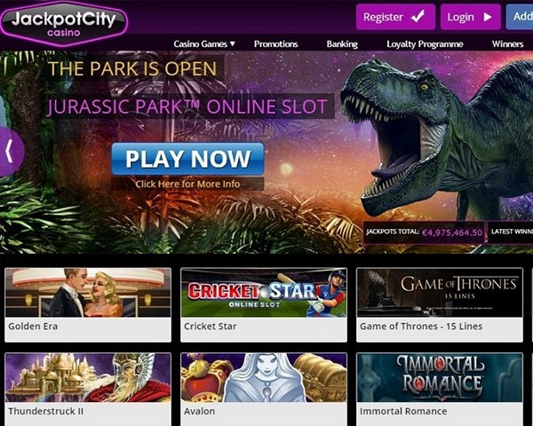 JackpotCity Casino Online Review