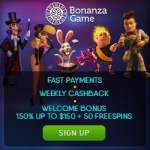 Bonanza Game Casino – $750 GRATIS and 100 bonus free spins