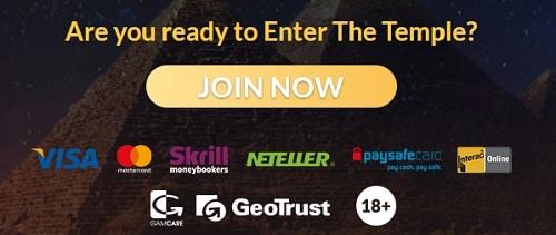 Temple Nile Online Casino deposit & cashout