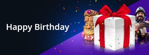 RiobetCasino happy birthday bonus