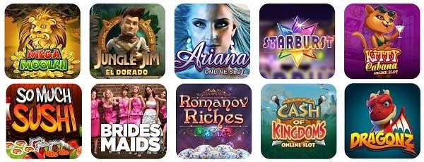Spin Casino gratis spins