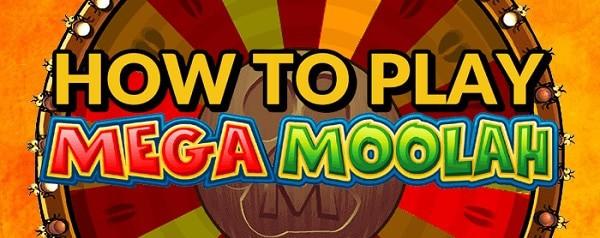 Mega Moolah - how to play?