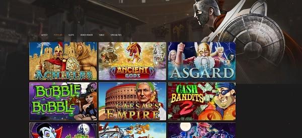 Slots Empire RTG Games