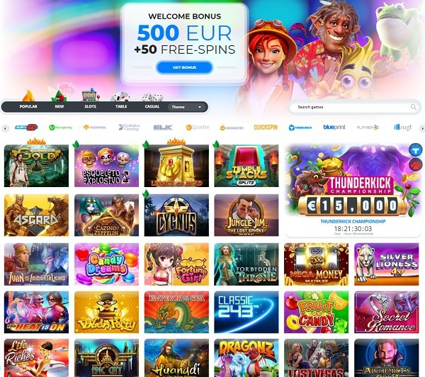 Ego Casino Review