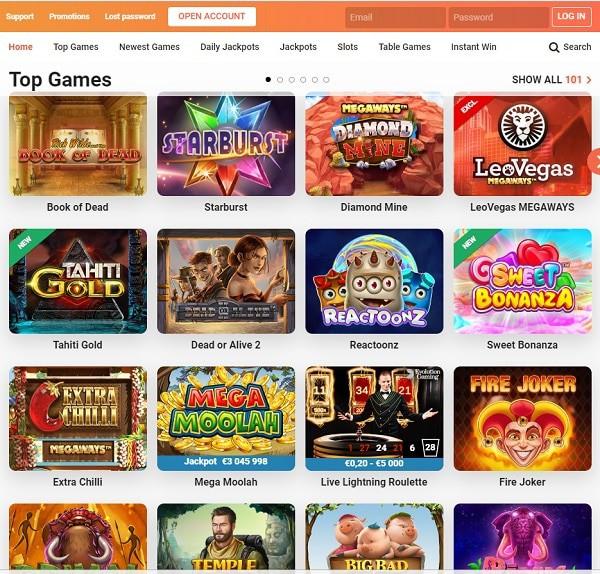 Leo Vegas Casino Review, Rating, Bonus
