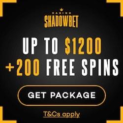 ShadowBet Casino Review: 220 gratis free spins + €1,200 free bonus